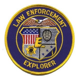 "HERO'S PRIDE LAW ENFORCEMENT EXPLORER PATCH 4"" CIRCLE-T-Box Tactical"
