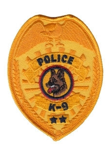 "HERO'S PRIDE POLICE K9 PATCH 2 1/2"" X 3 1/2""-T-Box Tactical"
