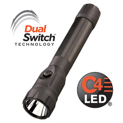STREAMLIGHT POLYSTINGER DS LED AC/DC FAST CHARGE BLACK