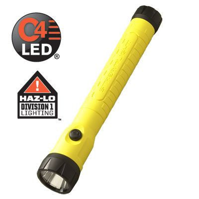 STREAMLIGHT POLYSTINGER LED HAZ-LO AC FAST CHARGE YELLOW