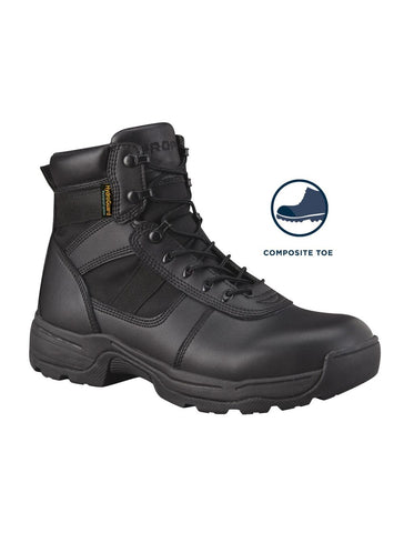 "()-6"" Side Zip Boot Waterproof Comp Toe(F4528)"