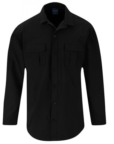 Propper Summerweight Tactical Shirt - Long Sleeve Black 2XL-LONG