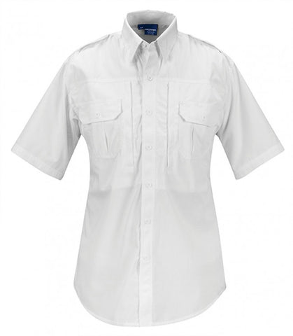 Propper Men's Tactical Shirt - Short Sleeve - Poplin White 2XL