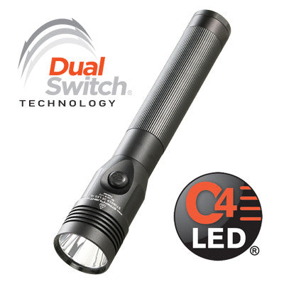 STREAMLIGHT STINGER DS LED HL 120V AC/12V DC - 1 PIGGYBACK BLACK