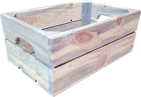 Blue Pine Shallow Crate