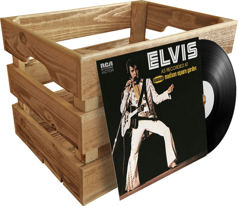 Vinyl Record Crate<br>• Album Storage