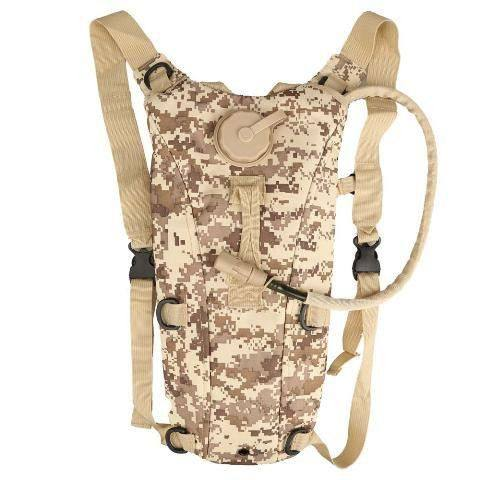 2.5L Tactical Outdoor Hydration Water Backpack Bag With Bladder