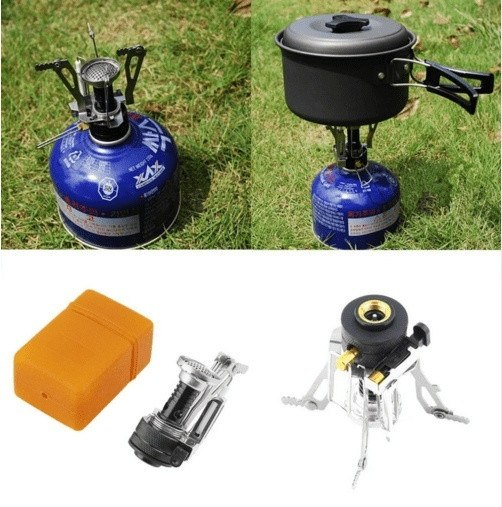 Portable Folding Mini Camping Survival Cooking Furnace Stove