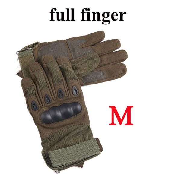 Us Army Tactical Gloves Outdoor Sports Full Finger Combat Motocycle  Slip-resistant Carbon Fiber Tortoise Shell