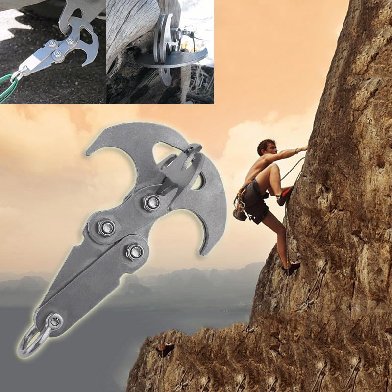 Image result for grappling hook climber