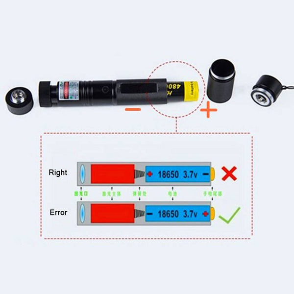 High Power Green Laser 10000mw Laser 303 Lazer Laser Pointer presenter with safe key+18650 Battery+18650 Charger