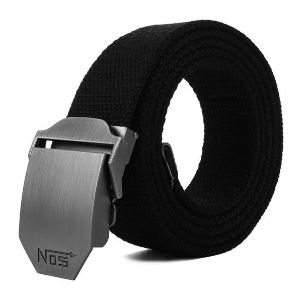 Hot Men Canvas Outdoor Belt Military Equipment Cinturon Western Strap Men'S Belts Luxury For Men Tactical Brand Cintos