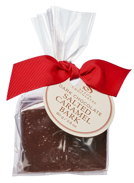 Dark Chocolate Salted Caramel Bark Bag