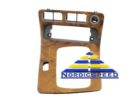 Center Console Cover Light Walnut OEM SAAB-5201470-NordicSpeed