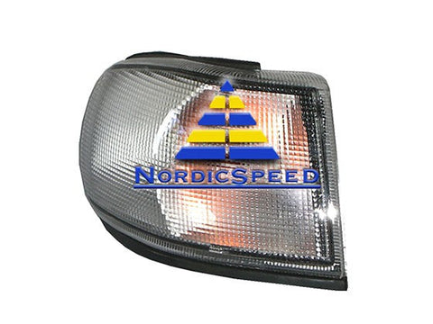 Corner Lamp E-Code 93-1998 RH Passenger Side Euro-Style Clear-4521308A-NordicSpeed