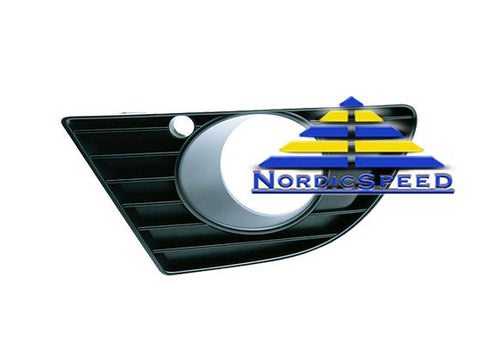 Fog Light Grille 2004-05 Aero LH Driver Side OEM SAAB-5491584-NordicSpeed