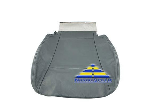 Leather Seat Cover K02/K03 Grey Front LH Driver Side Bottom OEM SAAB-12760242-NordicSpeed