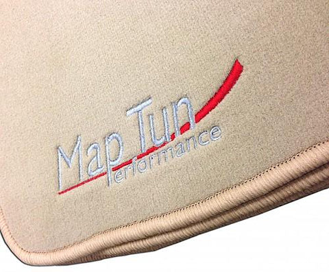 Maptun Performance Fabric Floor Mat Set Beige 9-3 99-02-01-70301-NordicSpeed
