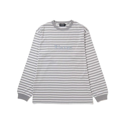 XLARGE L/S EMBROIDERY BORDER TEE