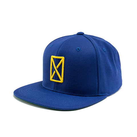 CRSVR ICON HAT (BLUE/YELLOW)