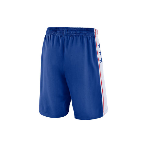 NIKE 76ERS AWAY SWINGMAN SHORTS