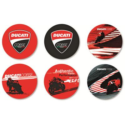 Corse Coasters Accessories Novelty Ducati