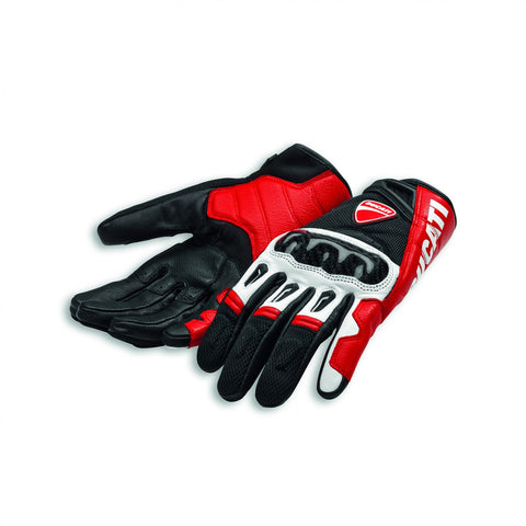 Company C1 Gloves Street Ducati SM Red/Black/White