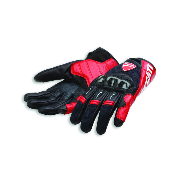 Company C1 Gloves Street Ducati SM Black/Red