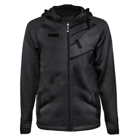 Tech Zip Casual Mens 509 SM Black