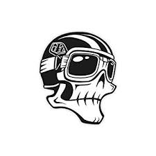 Skully Sticker - Riding Gear