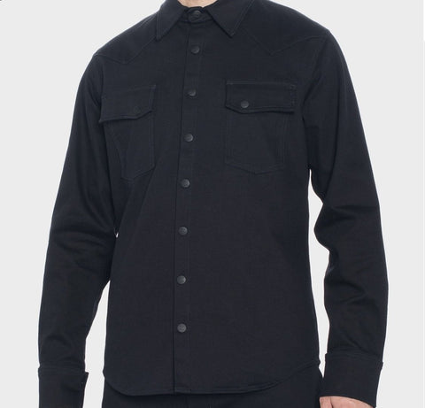 Augusta Stretch Denim Shirt with Dyneema Casual Mens ZIN