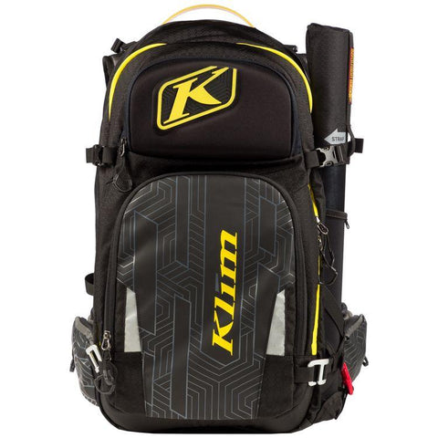 Krew Pak Backpacks Snow Klim Black