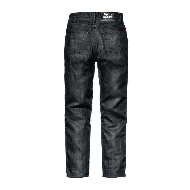 Slim Black Pants Street Saint