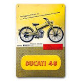48 Metal Sign Accessories Novelty Ducati