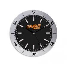 Scrambler Wall Clock Accessories Novelty Ducati