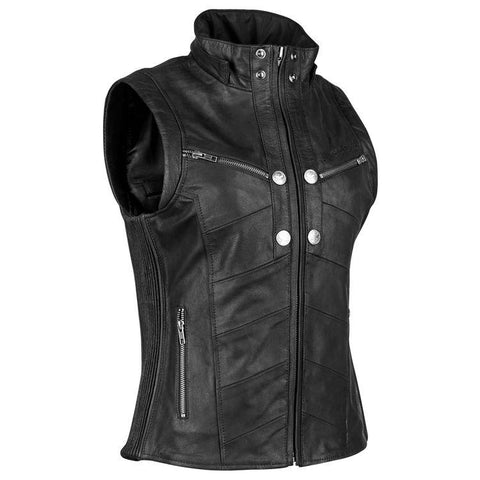Hell's Belles Leather Women's Jackets Street Speed And Strength