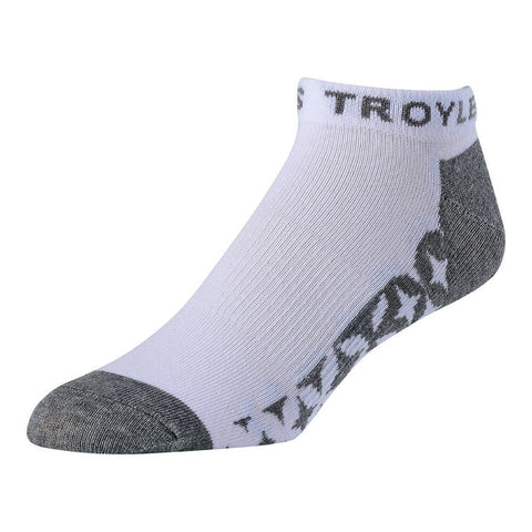 Starburst Ankle Socks 3-Pack Layering Troy Lee Designs 6-10 White