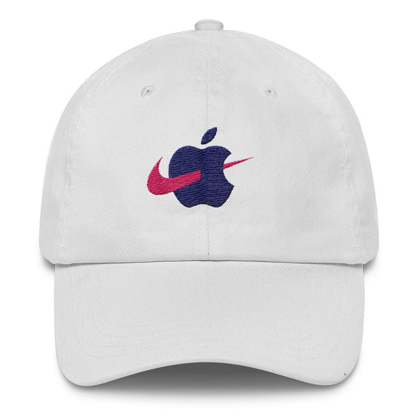 Swoosh Jobs Dad Hat