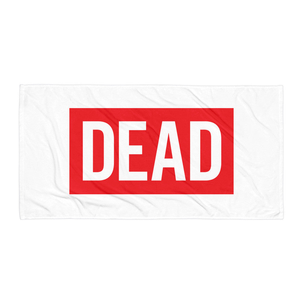 Dead Bookstore Beach Blanket