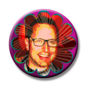 Psychedelic Selfie Button