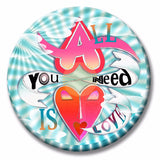 All you need is love Summer of Love button