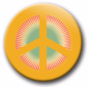 Peace sign Summer of Love Hip E Store button