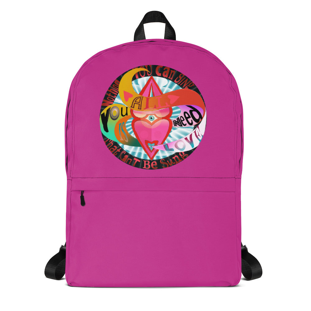 Backpack, All you need is love!
