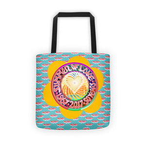 Summer of love tote bag