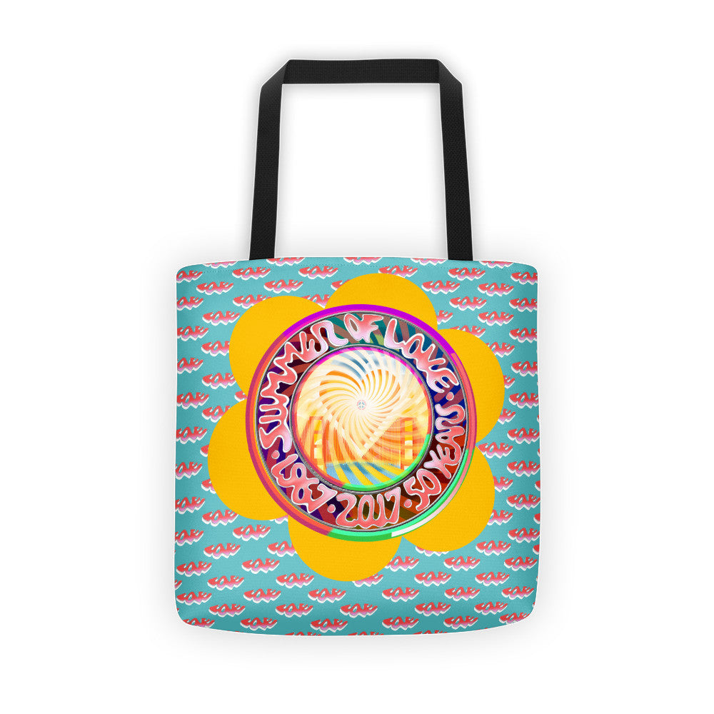 Summer of LOVE 50th Anniversary Tote Bag