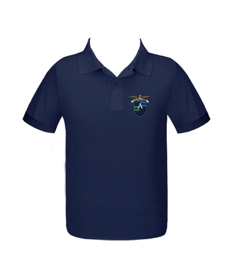 ALEXANDER ACADEMY GOLF SHIRT, UNISEX, SHORT SLEEVE, ADULT