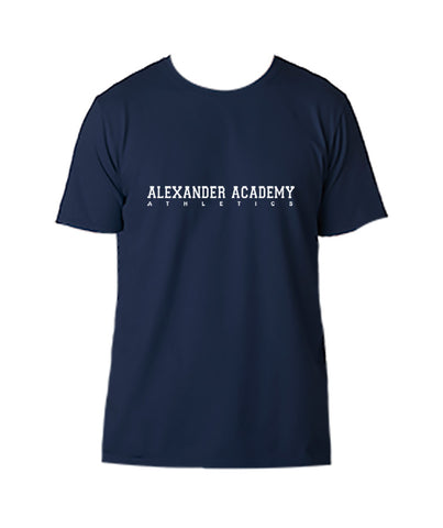 ALEXANDER ACADEMY GYM T-SHIRT, COTTON, ADULT