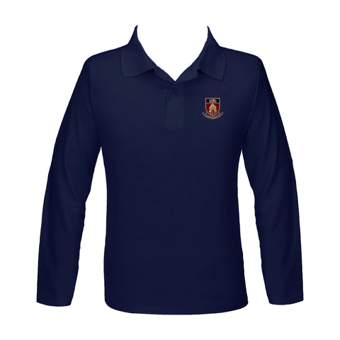 ASPENGROVE GOLF SHIRT, UNISEX, LONG SLEEVE, YOUTH