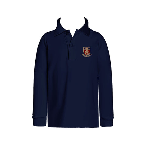 ASPENGROVE GOLF SHIRT, UNISEX, LONG SLEEVE, CHILD