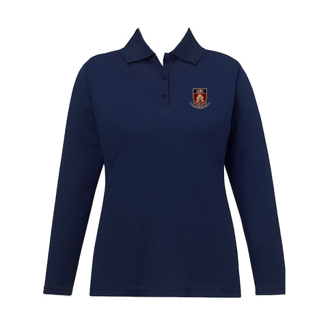 ASPENGROVE GOLF SHIRT, GIRLS, LONG SLEEVE, ADULT